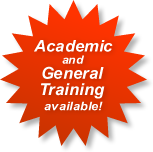 Academic and General Training available!